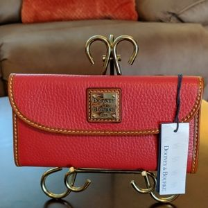 NWT Dooney & Bourke Red Leather Wallet